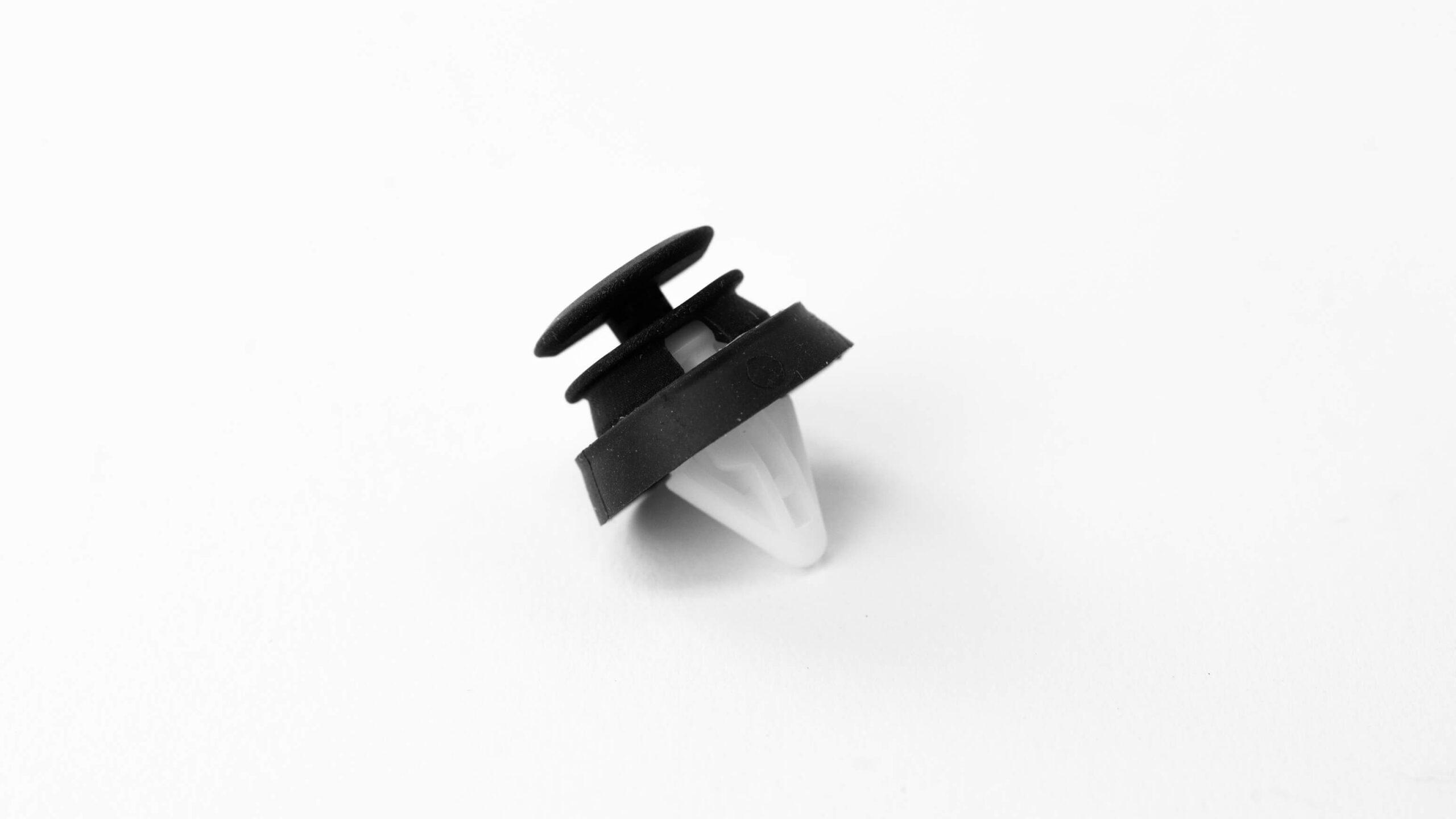 Assembled ARaymond trim-clip fastener functional prototype