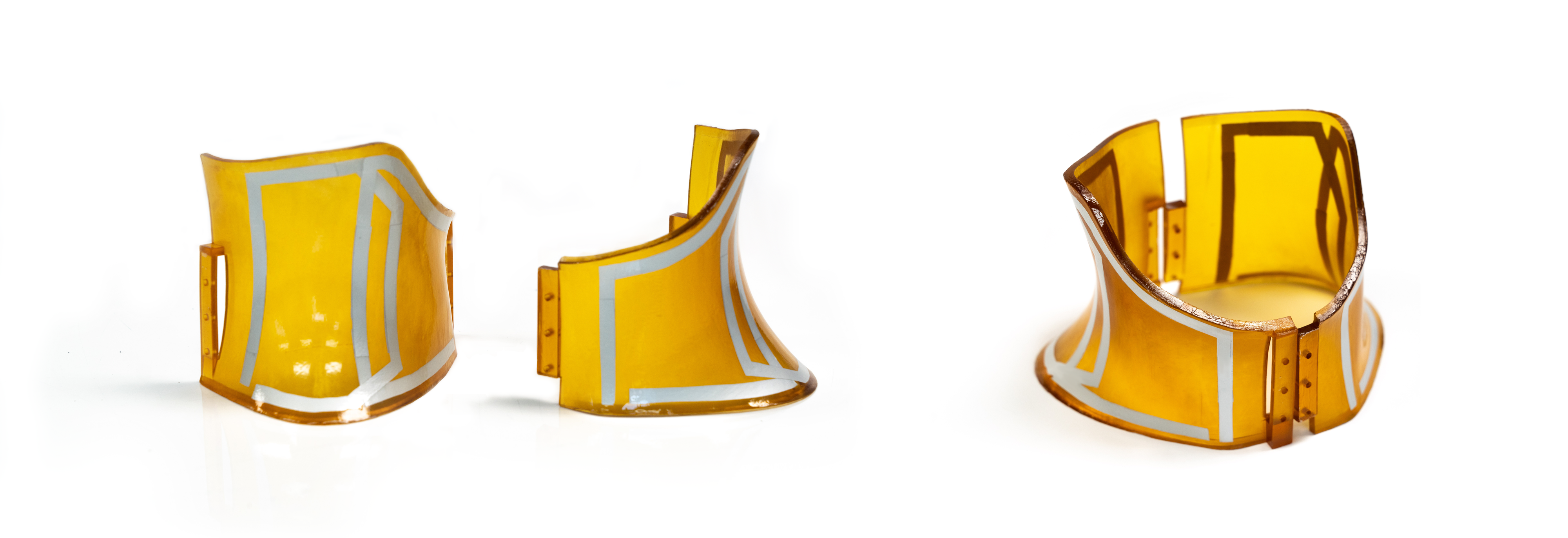 Patient-specific surface coils attached to custom-fit cervical collar