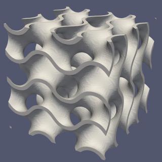 The gyroid lattice