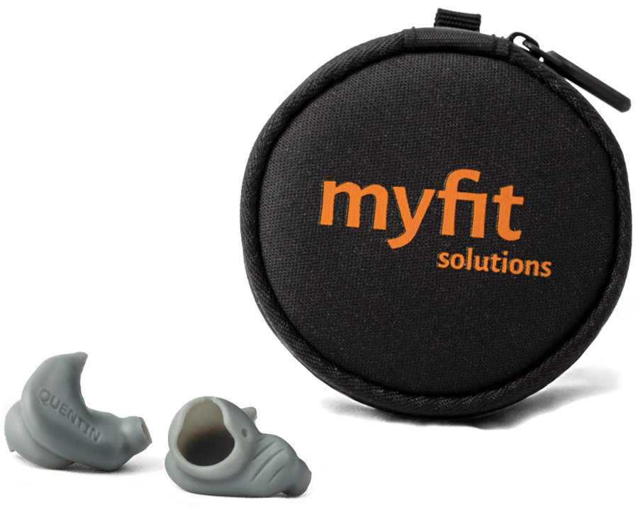 MyFit Solutions customized earbuds tips and case